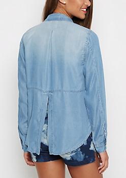 Vintage Jean Shirt By Wild Blue x Sadie Robertson™