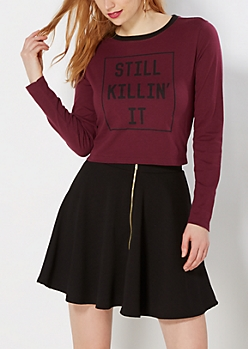 Killin' It Ringer Tee