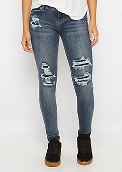 Flex Vintage Ripped Jegging