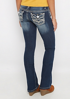 Destroyed & Ripped Boot Jean