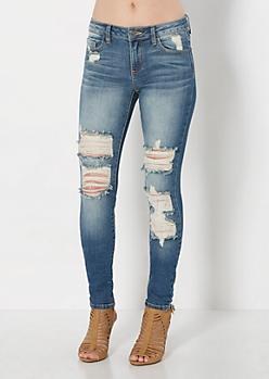 Ripped & Torn Skinny Jean