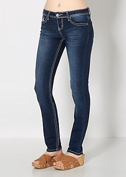 Crystal Set Skinny Jean