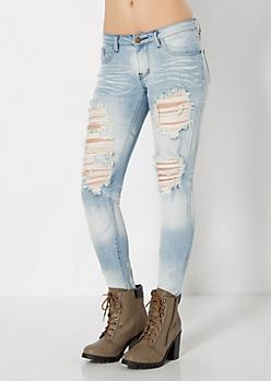 Vintage Ripped Skinny Jean