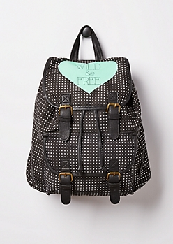 Wild & Free Dotted Mini Backpack