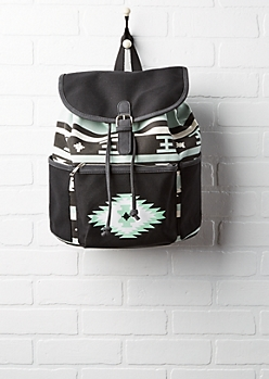 Mint Southwest Bucket Backpack