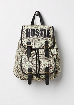 Hustle Canvas Backpack