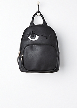 Winking Eye Mini Backpack