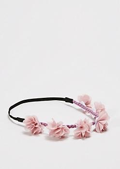 Purple Summer Lovin' Flower Crown