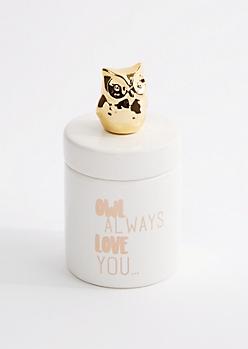 Owl Trinket Cup