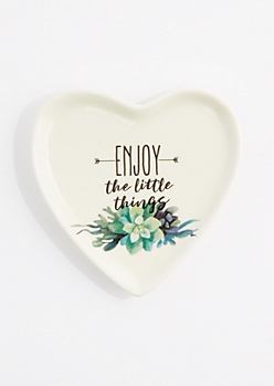 Enjoy The Little Things Ring Tray