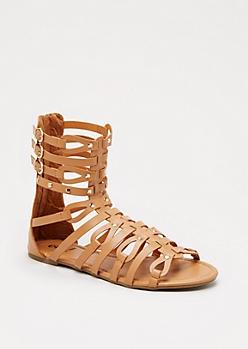Cognac Gladiatrix Sandal