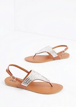 Bright Stone Strap Sandal