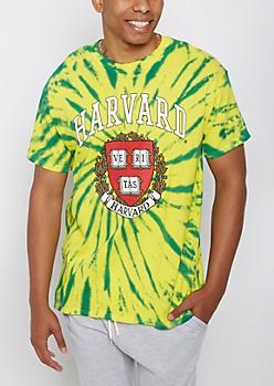 Harvard Tie Dye Tee