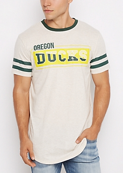 Oregon Ducks Football Ringer Tee