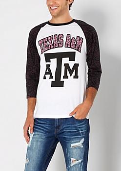 Texas A&M Aggies Baseball Tee