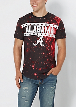 Alabama Crimson Tide Galaxy Tee
