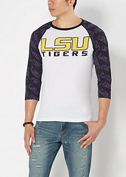LSU Tigers Baseball Tee