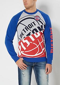Detroit Pistons Game Day Sweatshirt
