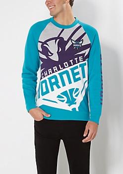 Charlotte Hornets Logo Sweatshirt