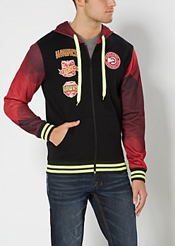 Atlanta Hawks Hooded Track Jacket