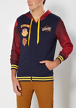 Cleveland Cavs Hooded Track Jacket