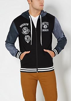 Brooklyn Nets Fleece Jacket