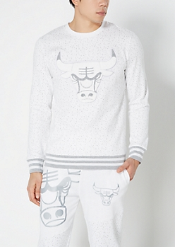 Chicago Bulls Reflective Speckled Sweatshirt