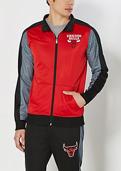 Carbon Fiber Chicago Bulls Track Jacket