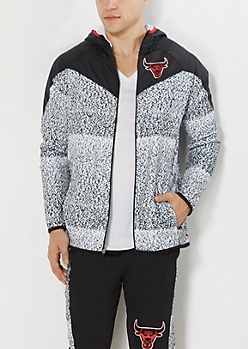 Chicago Bulls Static Hooded Track Jacket