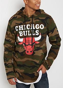 Chicago Bulls Camo Hoodie