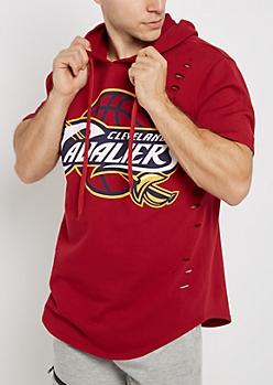 Cleveland Cavaliers Distressed Hoodie