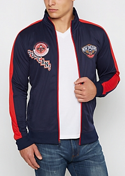 New Orleans Pelicans Patched Track Jacket