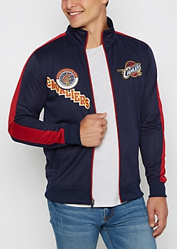 Cleveland Cavaliers Patched Track Jacket