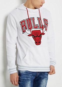 White Chicago Bulls Hoodie