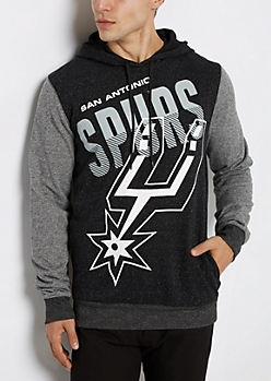 San Antonio Spurs Color Block Hoodie