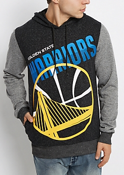Golden State Warriors Color Block Hoodie