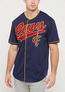 Cleveland Cavaliers Logo Baseball Jersey