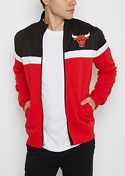 Chicago Bulls Color Block Track Jacket