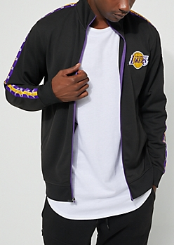Los Angeles Lakers Patched Track Jacket