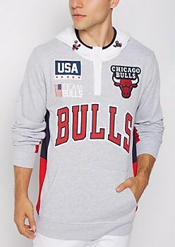 Chicago Bulls Patchwork Hoodie