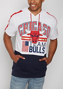 Chicago Bulls Foiled Hooded Sweatshirt