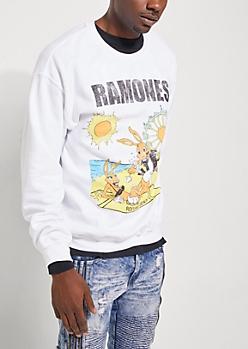 Ramones Rockaway Beach Sweatshirt