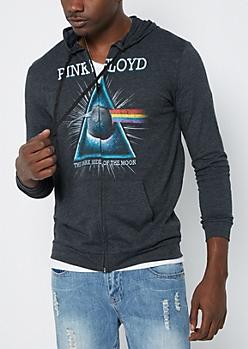 Pink Floyd Dark Side Zip Hoodie