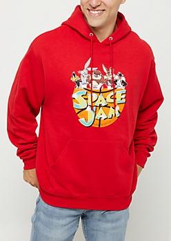Space Jam Logo Hoodie