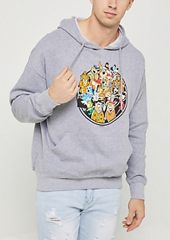 Hanna-Barbera Toon Fleece Hoodie