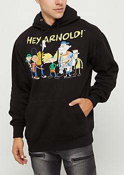 Hey Arnold Vintage Hoodie
