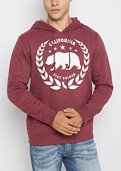 Cali Republic Stay Golden Fleece Hoodie