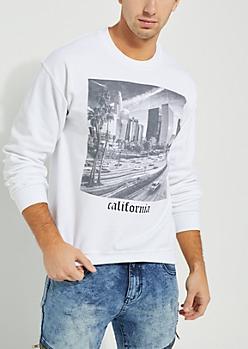 California White Sweatshirt