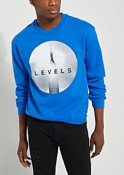 Levels Royal Blue Sweatshirt