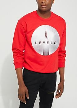 Levels Red Sweatshirt